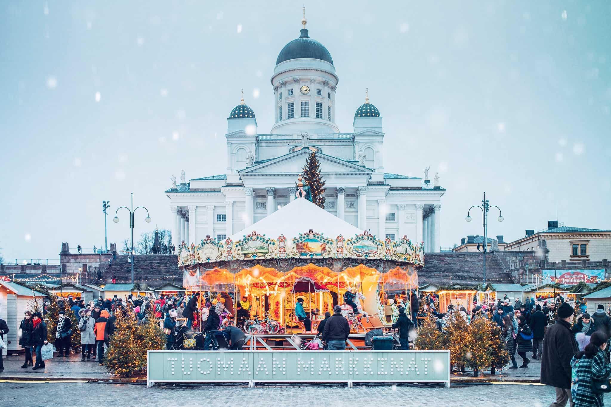 Хельсинки новый год фото