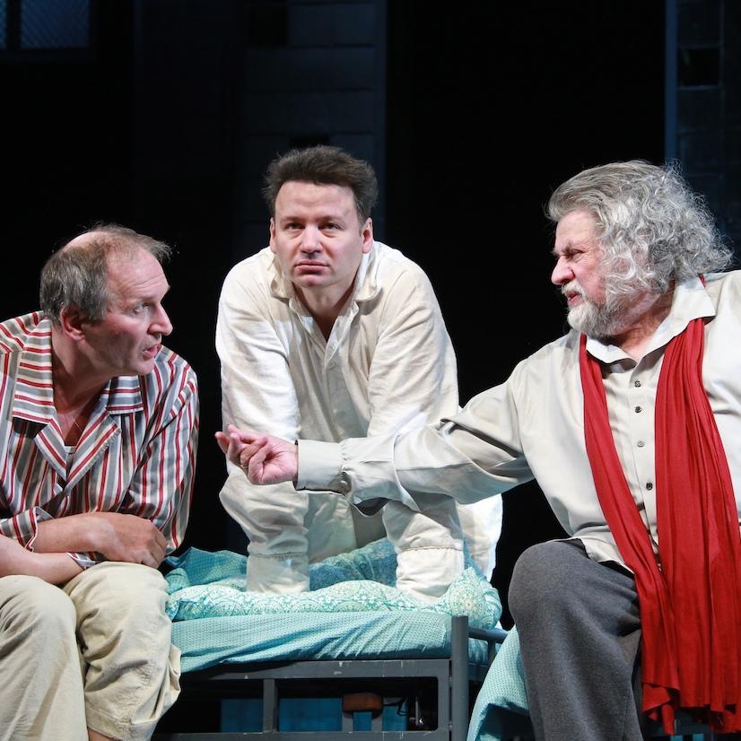 Спектакль «Где мы?» с Ширвиндтом, Олешко и Добронравовым со скидкой до 72%