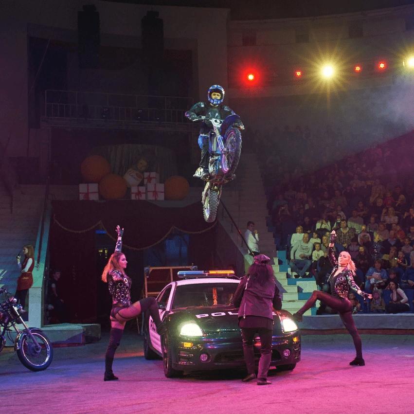 Представление X-TREME SHOW в цирке Автово со скидкой до 50%