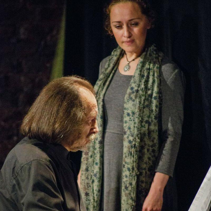Спектакль «Ахматова. А я была его женой»