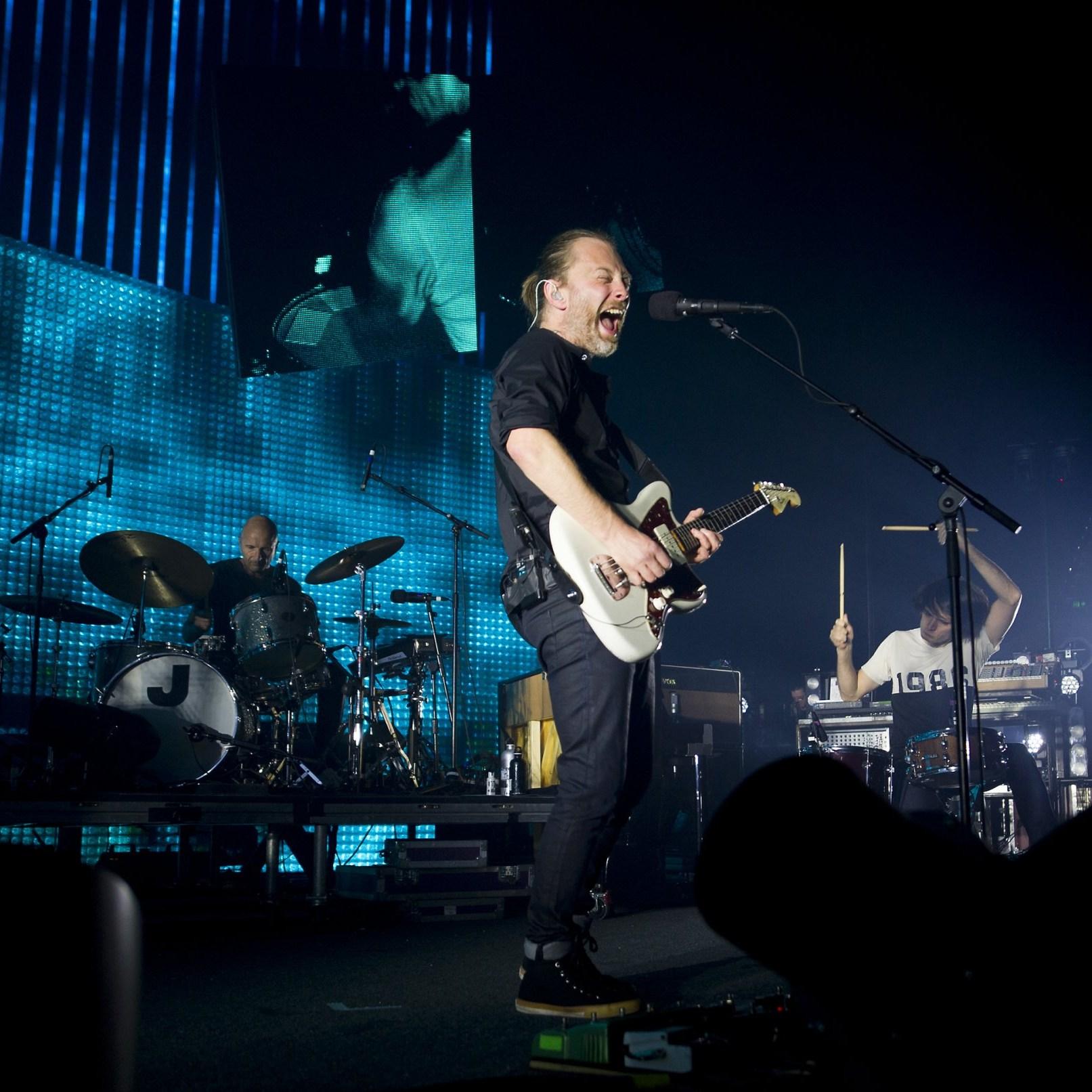 Онлайн-трансляции архивных выступлений Radiohead