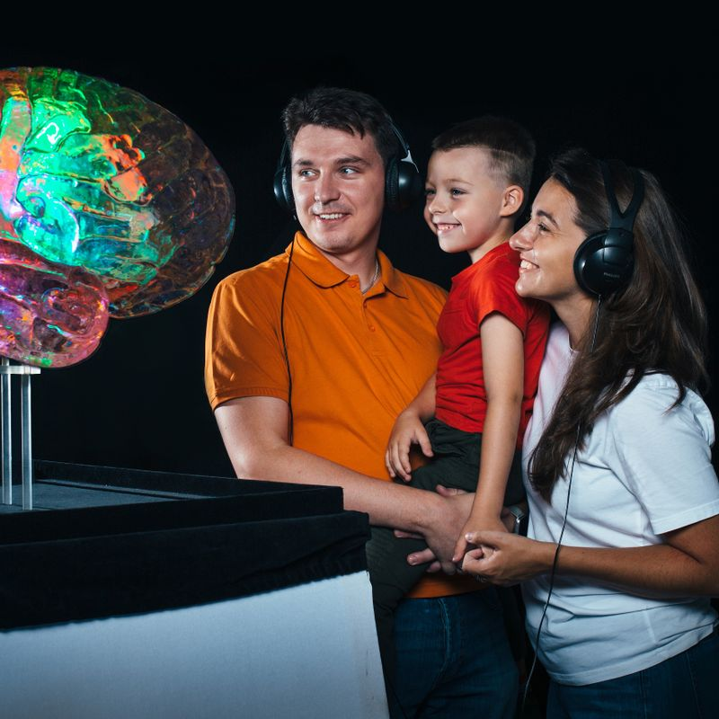 Интерактивная выставка «Мозг. Вселенная внутри нас»