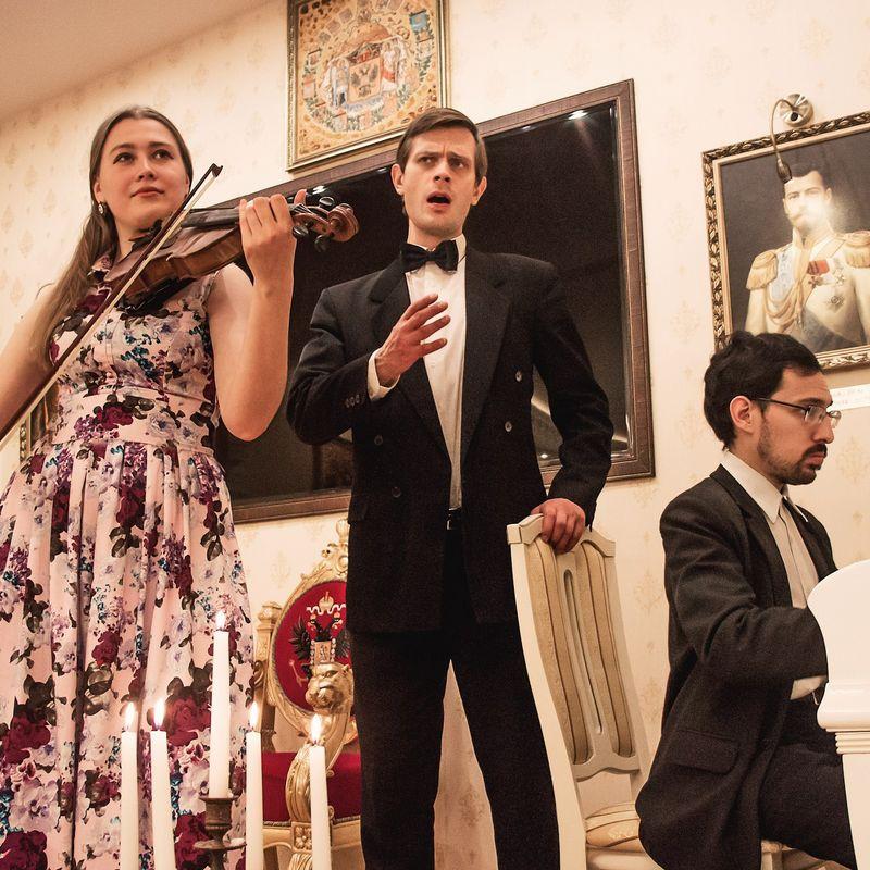 Музыкальный вечер «Концерт, музей, фуршет в Доме Романовых»