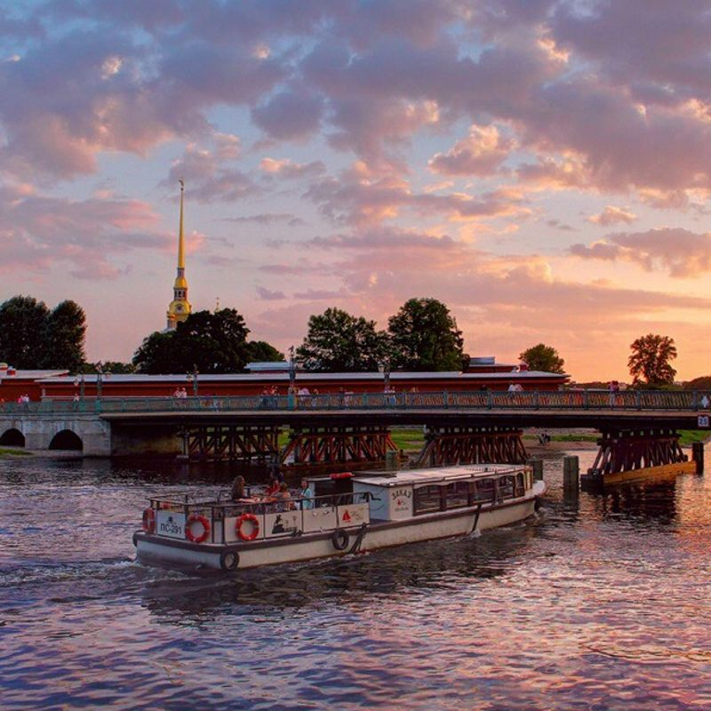 Прогулка по реками и каналам от Иоанновского моста