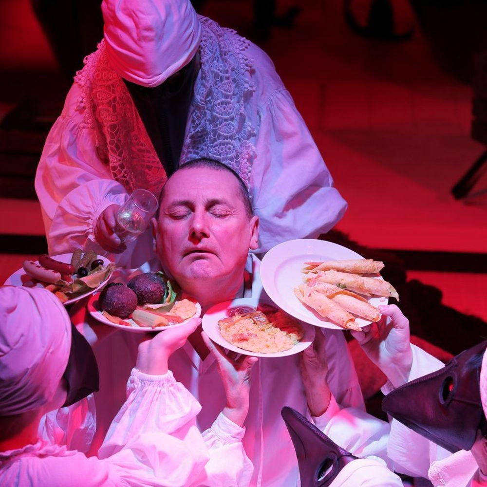Спектакль «Ваш Гоголь. Последний монолог» на Новой сцене Александринского театра