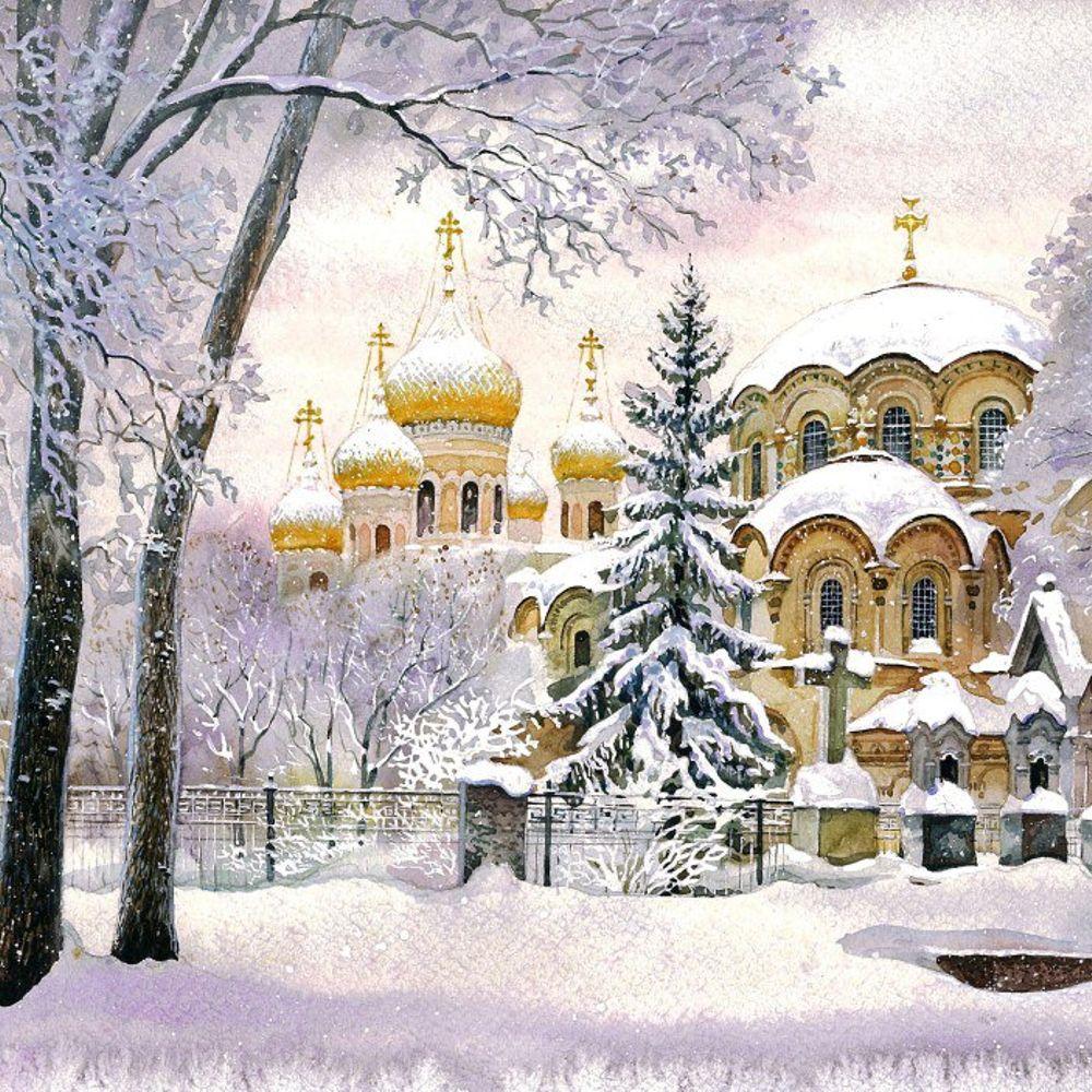 Петербургские открытки с рождеством христовым