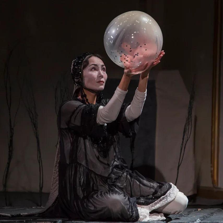 Спектакль «Зулейха открывает глаза» на Театральной олимпиаде