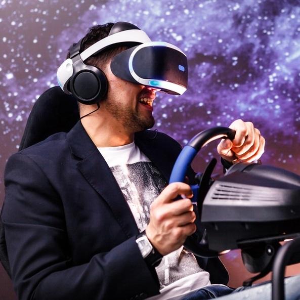 Посещение аттракциона XD-Motion в ТРК «Планета Нептун» со скидкой 50%
