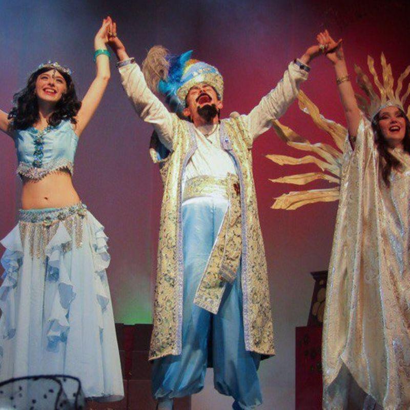 Спектакль для детей «Волшебная лампа Аладдина» со скидкой 42%