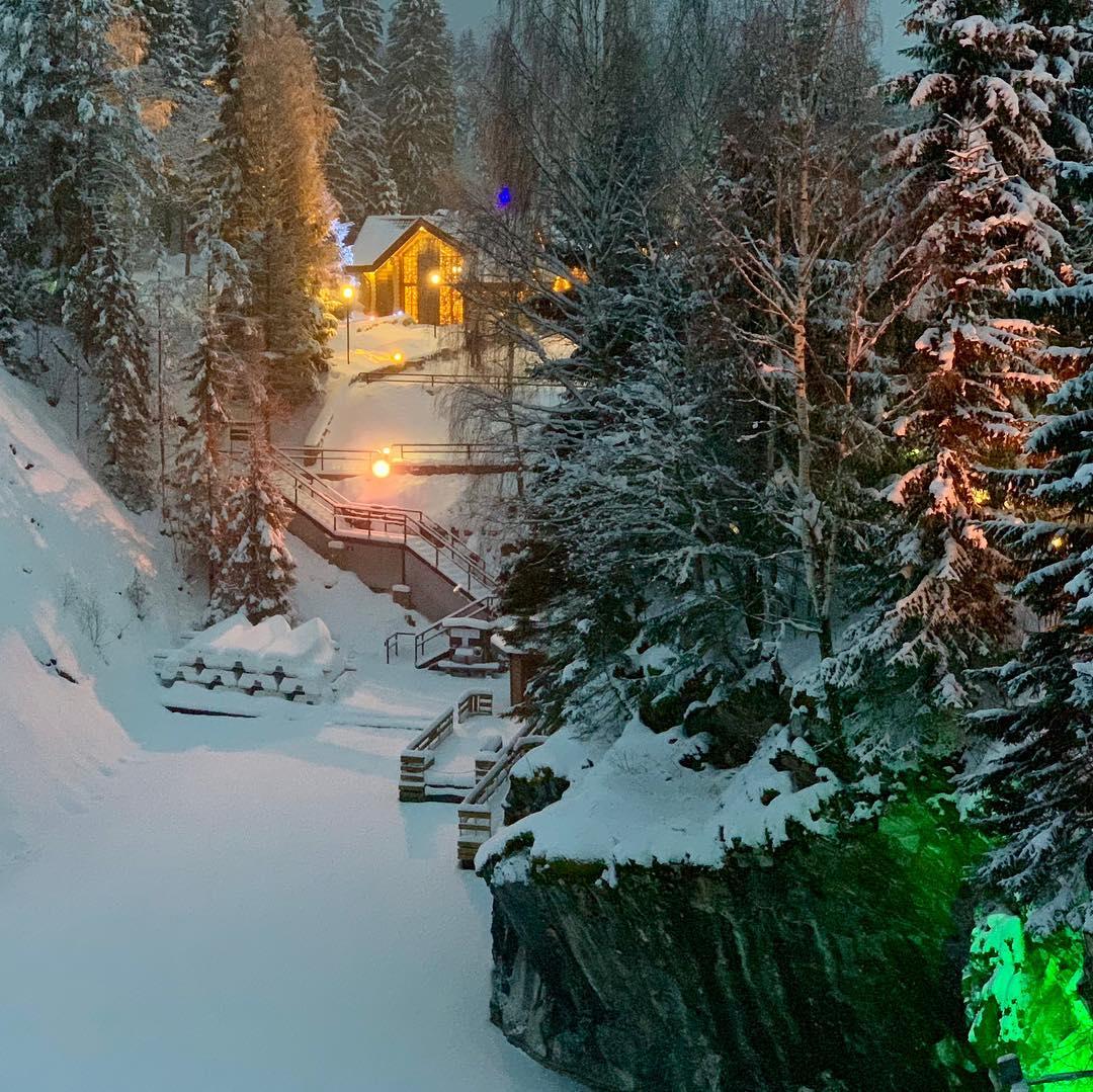 Экскурсия по зимней Карелии от агентства «Эльбрус»
