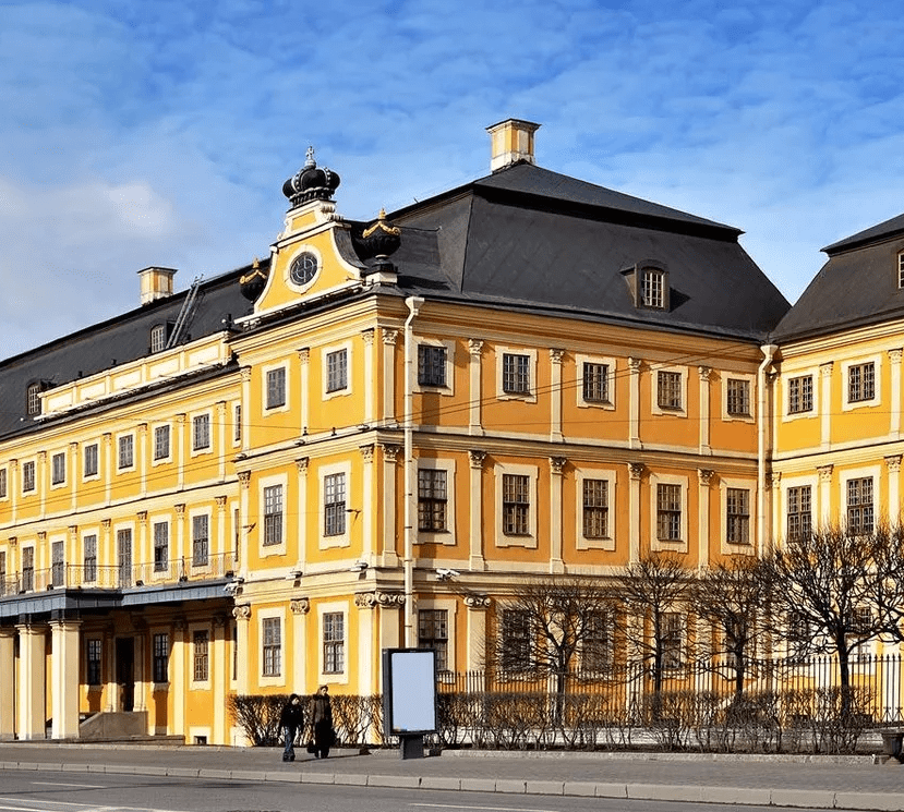 Посещение Меншиковского дворца