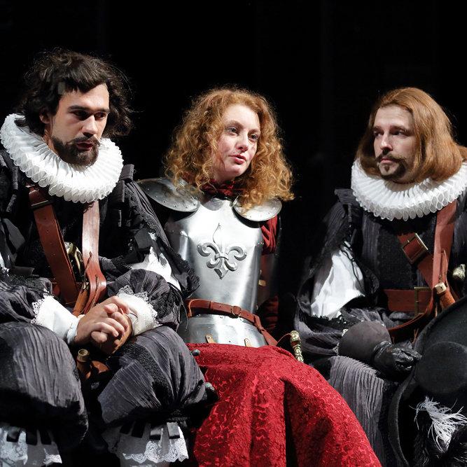 Спектакль «Сирано де Бержерак» в Александринском театре
