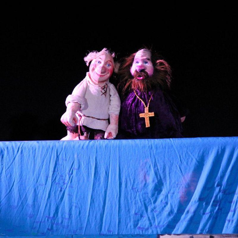 Кукольный спектакль «Сказка о Попе и его работнике Балде»