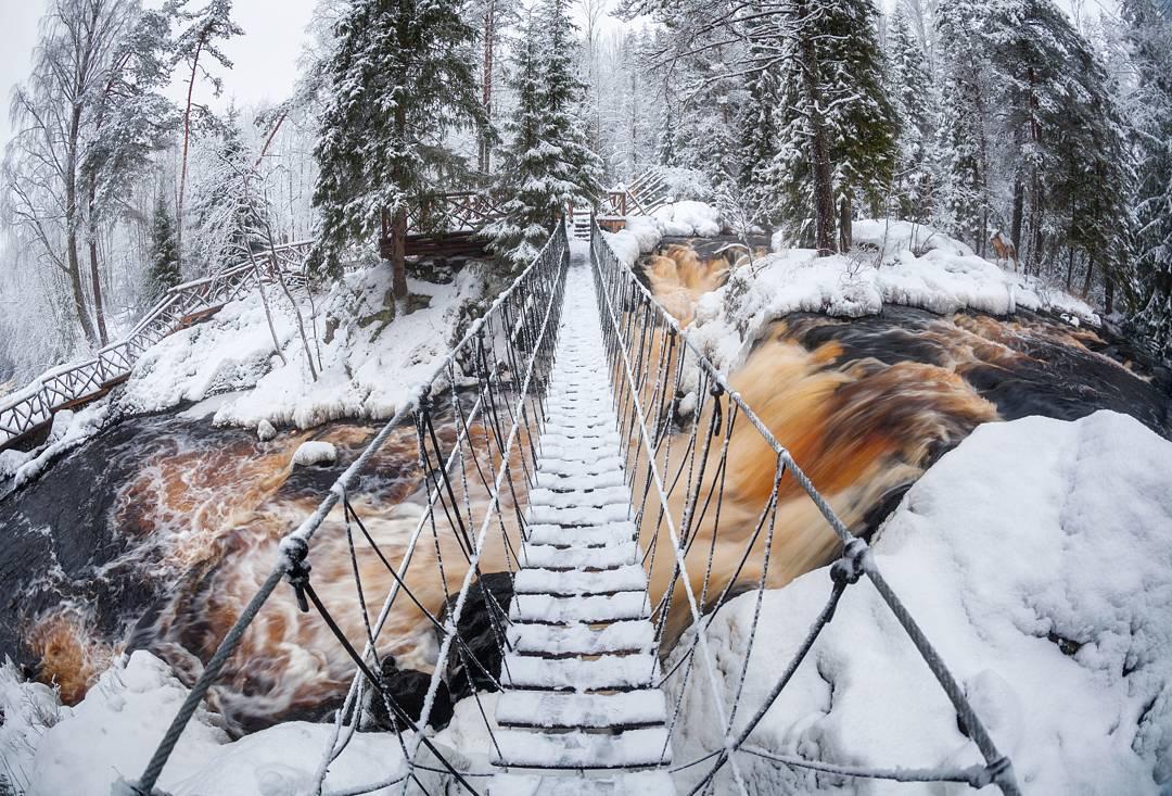 Экскурсии по Карелии «Мраморный каньон, Рускеальские водопады» от агентства «Вертикаль»