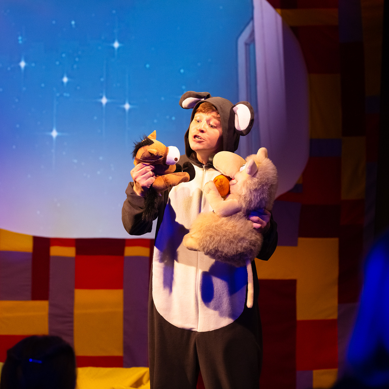 Премьера детского мюзикла «Мышонок – спать.net»