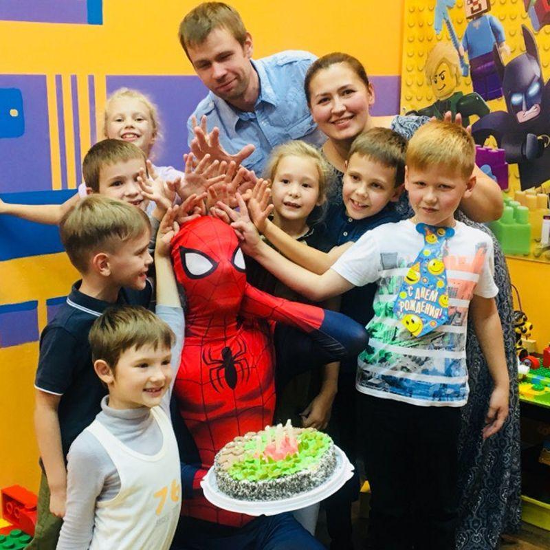Детский день рождения в центре «Легоигры»