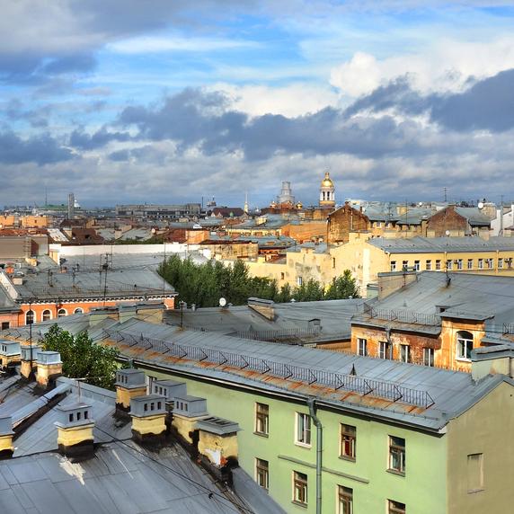 Прогулка-экскурсия на петербургской крыше со скидкой 61%
