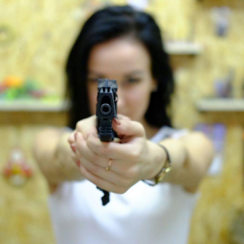 Стрельба в спортивно-призовом тире «Плинкер»
