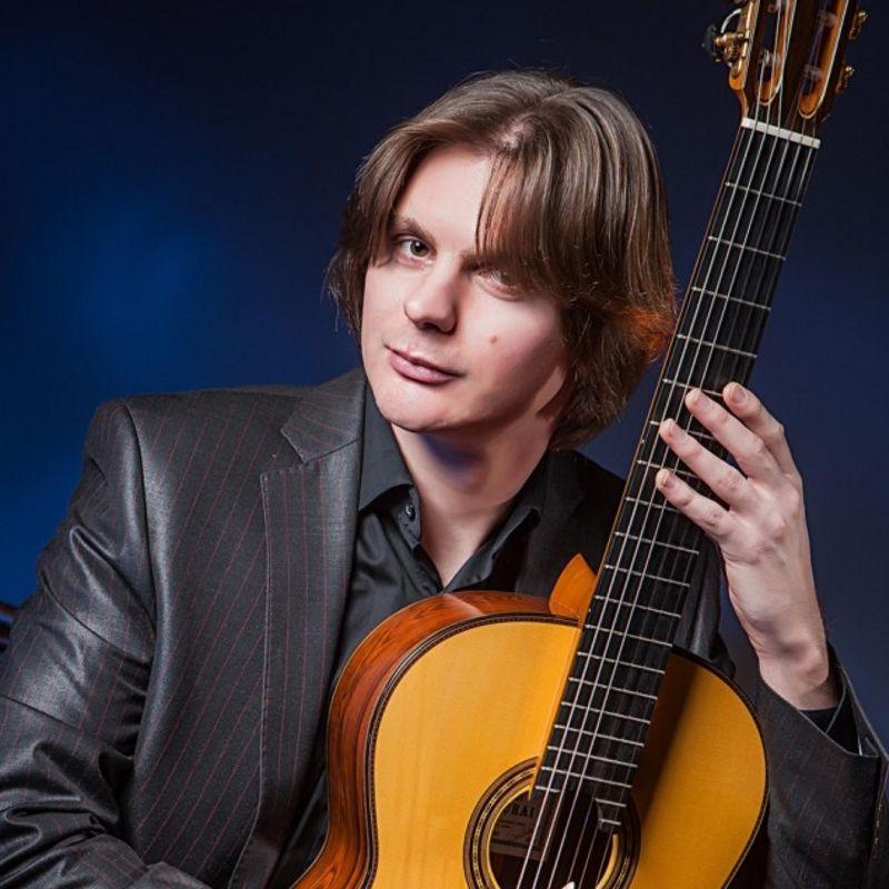 Сольный концерт Антона Баранова «Золотой Полифем – гитара»