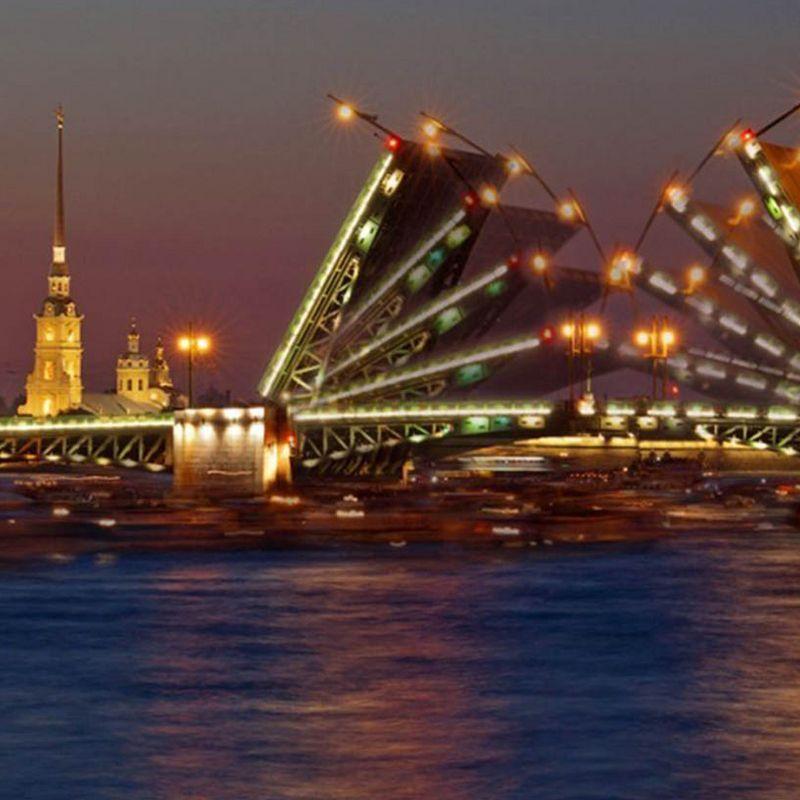 Ночная прогулка на теплоходе от Иоанновского моста