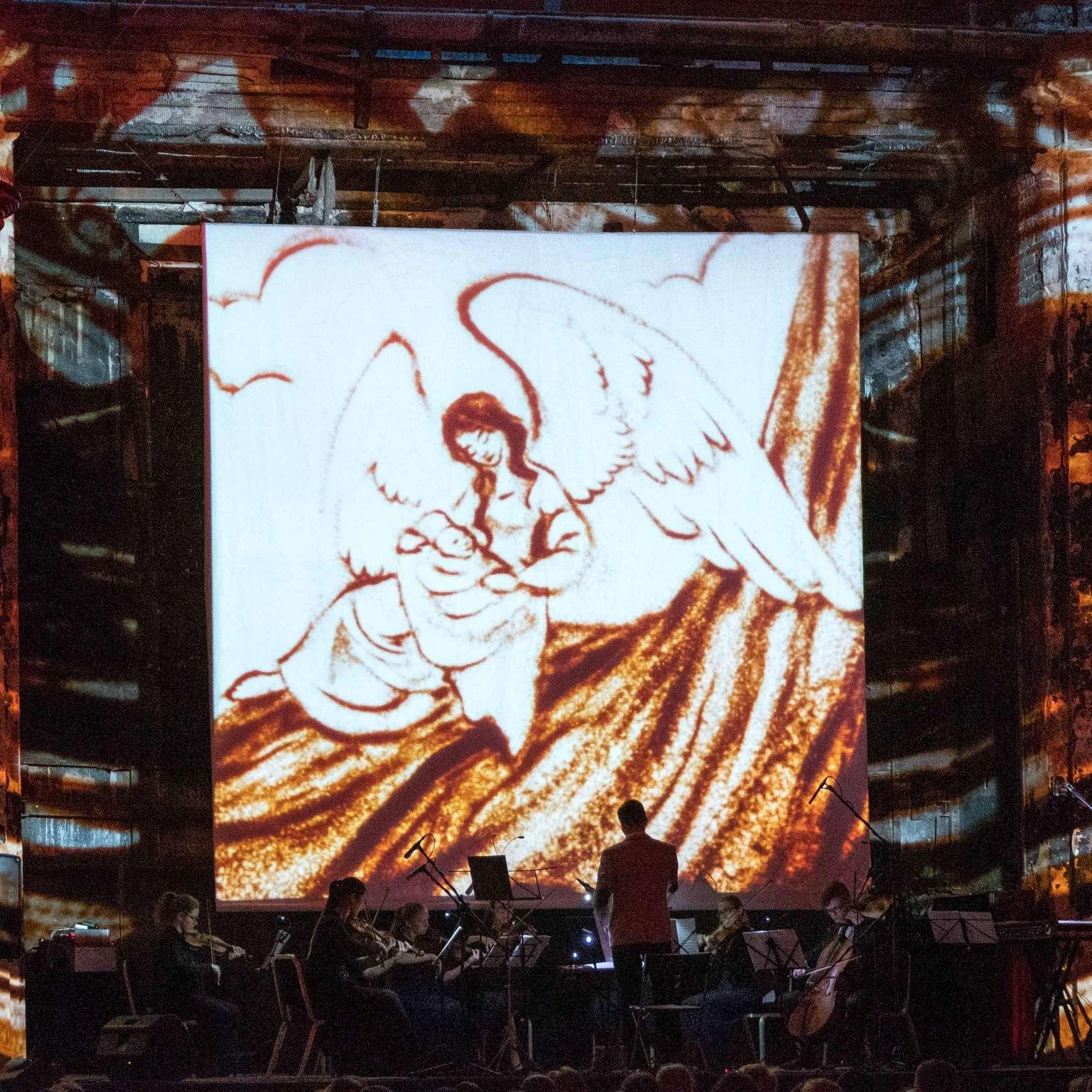 Концерт «Классика на песке. Моцарт и Бах» со скидкой 37%