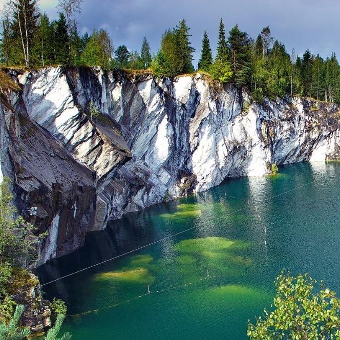 Однодневный тур «Мраморный каньон Рускеала» от туроператора «Жемчужины Родины» со скидкой 34%