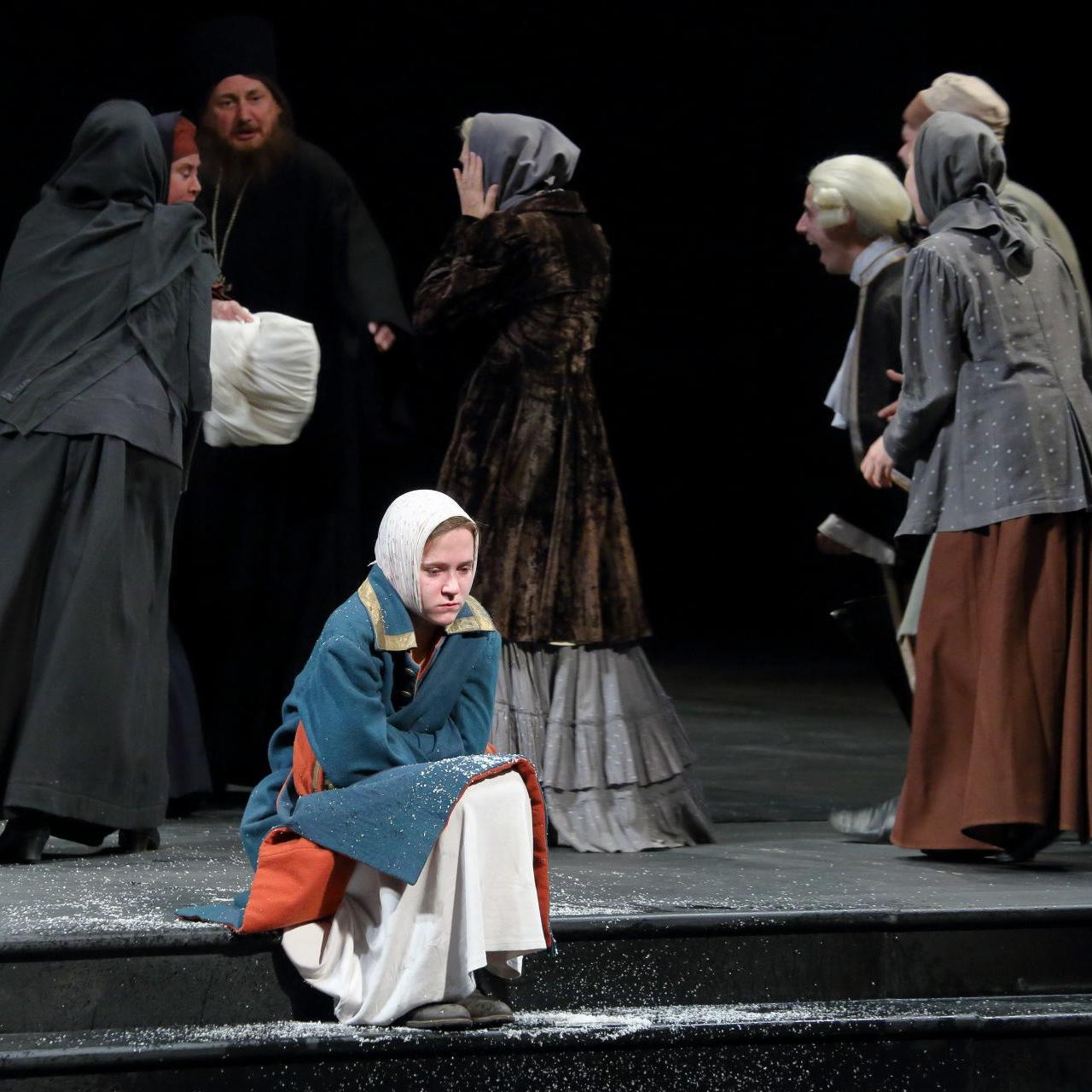 Спектакль «Блаженная Ксения. История любви» в Александринском театре со скидкой 50%
