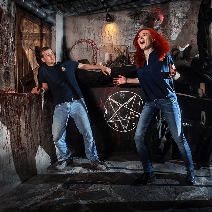 Квест «Дом с привидениями» от RAZOOMGAMES со скидкой 50%