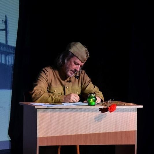 Литературно-музыкальный спектакль «Жди меня» со скидкой 35%