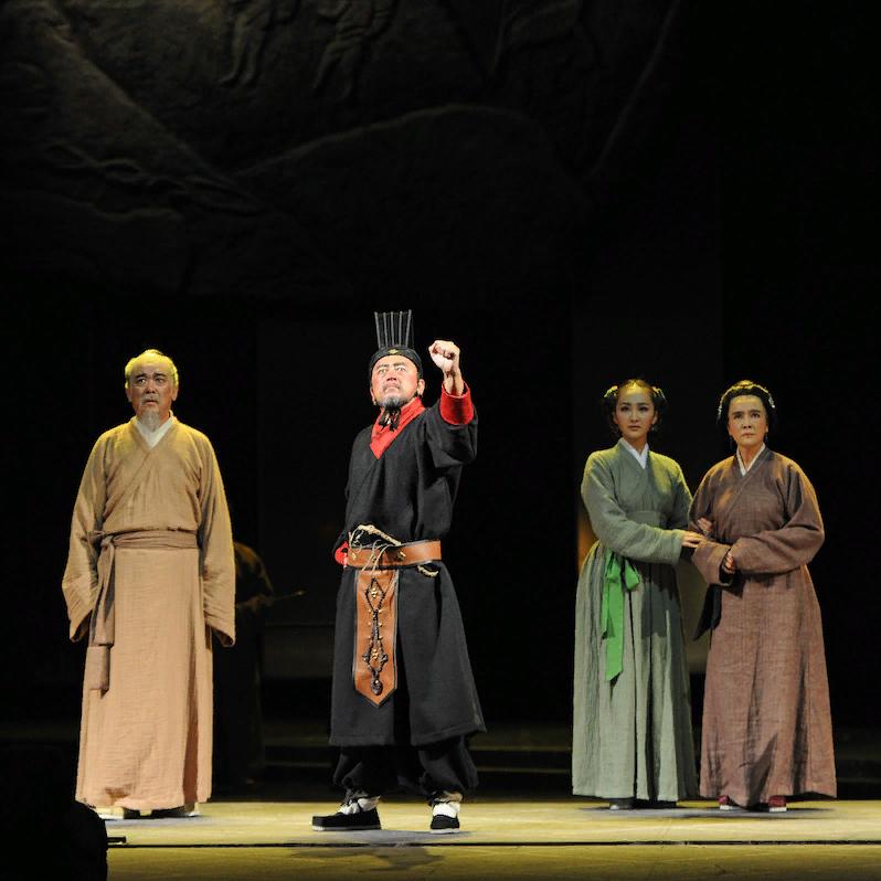 Спектакль «Сыма Цянь» на Театральной олимпиаде