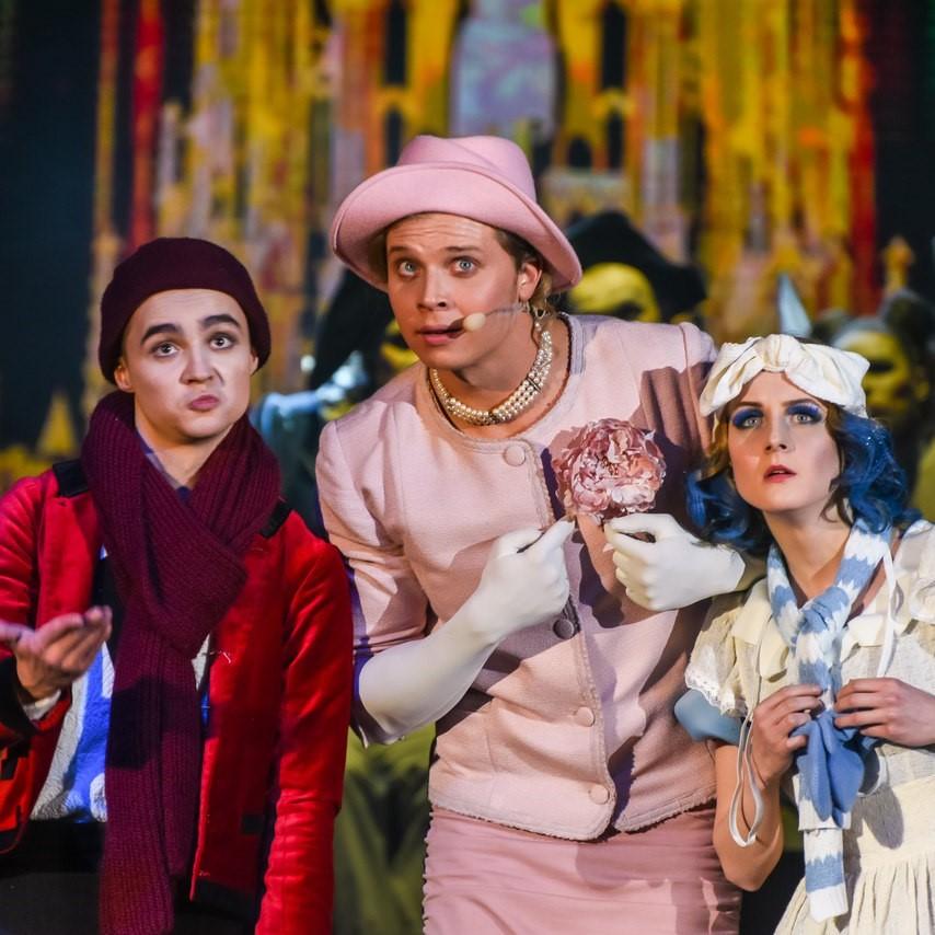 Мюзикл «Оскар и Розовая Дама»