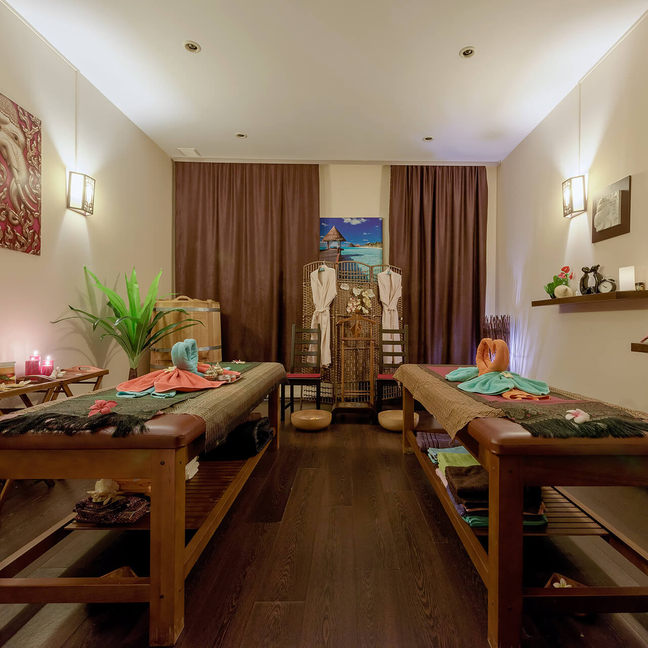 Сеанс традиционного тайского массажа от мастера из Таиланда со скидкой 26%