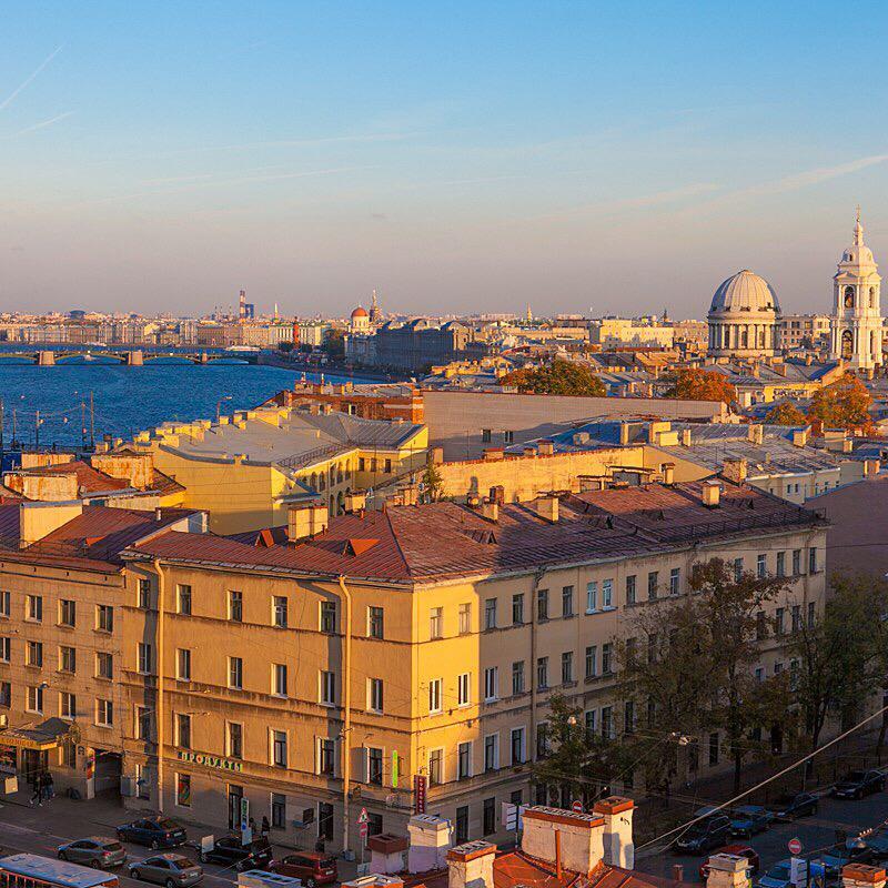 VIP-экскурсия на самой высокой крыше Васильевского острова со скидкой 40%