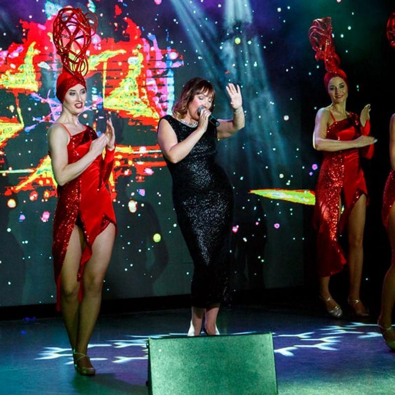 Шоу-программа «Москва-Америка»