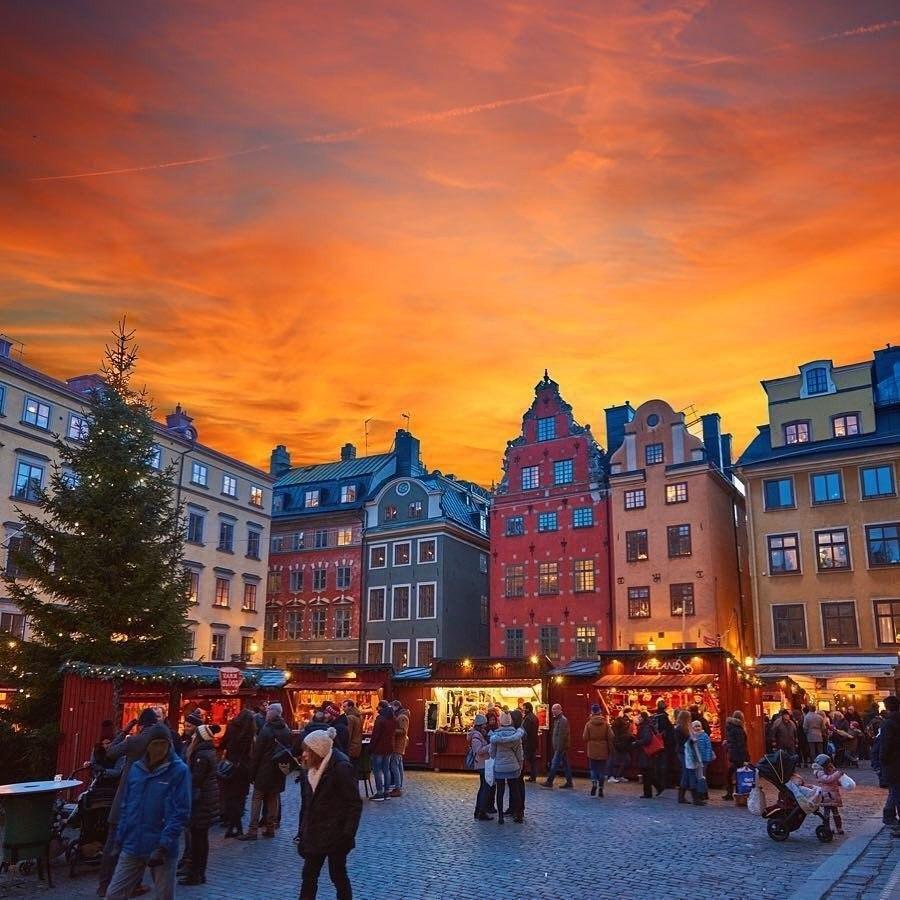 Швеция новый год картинки