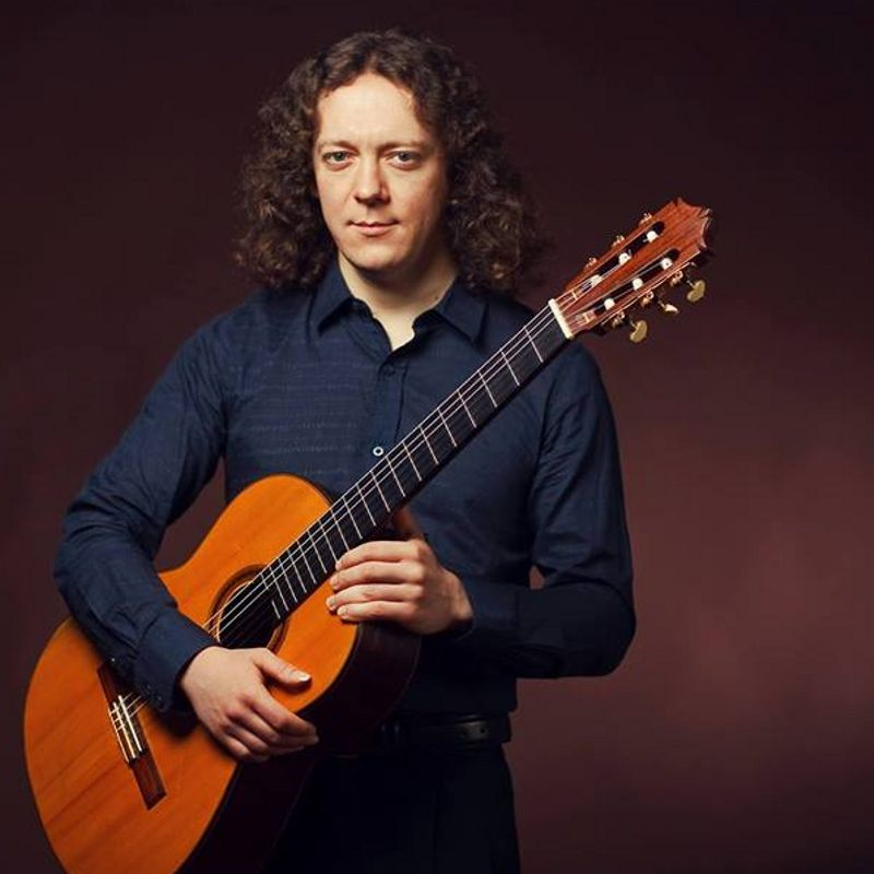 Концерт Дмитрия Илларионова «Три века гитары»