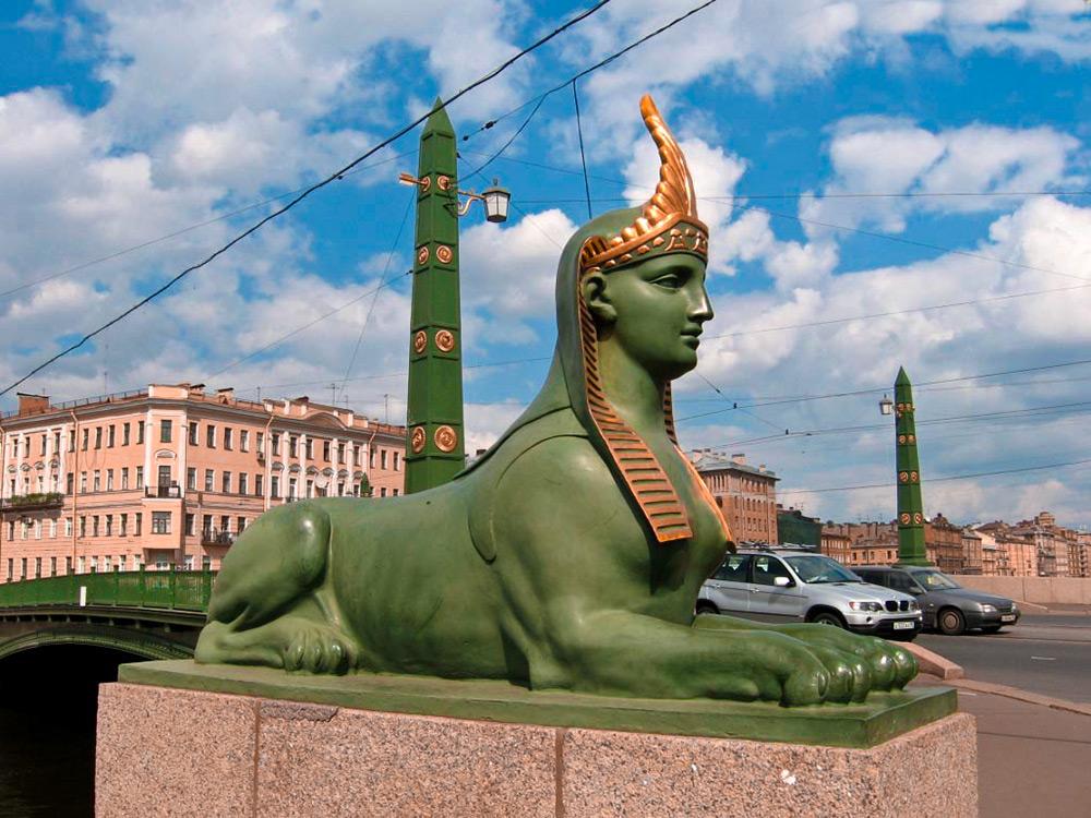 Египетский мост в санкт петербурге фото